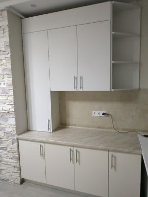 Гардероб Венге и Мебель для кухи Соф тач - Италия