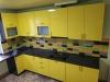 Кухня Фасад МДФ крашеный RaL1018 с металликом