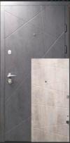 Входные двери MAGDA 100  бетон темный / бетон светлый