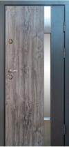 Входные двери MAGDA 900 дуб кантри/термо белое дерево