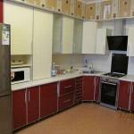 Фото кухни в Алюминевом профиле
