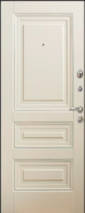 Входные двери MAGDA 339  софт -тач мусон/белый супермат (коробка белая)