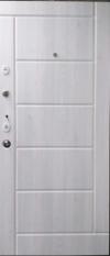 Входные двери MAGDA 116 венге+белый мат