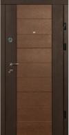 Входные двери MAGDA 600 венге южное/венге магия