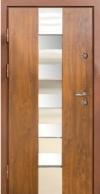 Входные двери MAGDA 701 дуб бронзовый